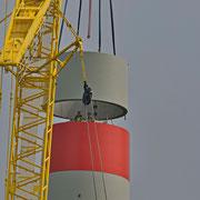 29.o4.2o14 Neubau 3 MW Windrad Haard