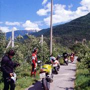 Südtirol-Tour im Juni 2001