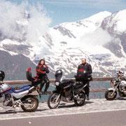 Glocknertour mit der Transalp im August 2000
