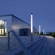 ATHEX PMMA Rohre für quadratische Leuchtenstelen © Hess GmbH Licht + Form