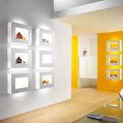 Schmitz-Leuchten GmbH & Co. KG – Gefräste und geklebte Warenpräsenter von ATHEX