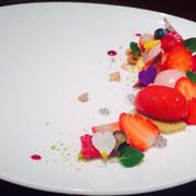 季節のフルーツを使った一皿・2014春