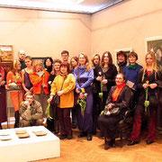 Члены Ассоциации художников Даугавпилсского региона в ДКХМ