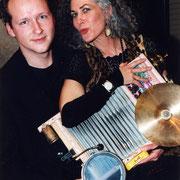 Duo-Auftritte mit Angela Altieri Mitte der 90er Jahre.
