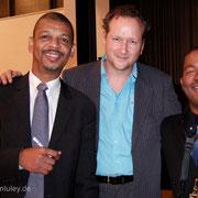 Mit Lucien Barbarin und Louis Ford im Rahmen einer Barrelhouse Gala Tour
