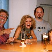 Dieter Nentwig, Judy Carmichael, John Allred... und ich hab's grad noch auf's Bild geschafft.