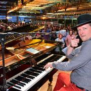 ... und nochmal im Flughafen Dresden, Dixieland Festival 2014