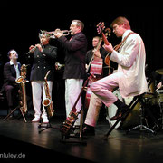 Barrelhouse Jazzband im Einsatz