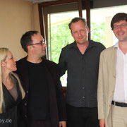 Anke Helfrich, Mini Schulz, me, Obi Jenne