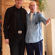 "Mit Mike Whellans aus Schottland, the ""One-Man-Blues-Band"""