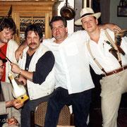 Die wilden Boogie Boys... Jazzfestival Gladbeck Mitte der 90er.