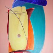 Cello. € 1100 Acryl 100 x 120 cm