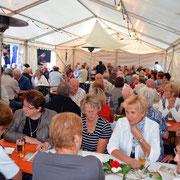 Zelt am Hoffest