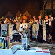 Blasmusik zum Hoffest