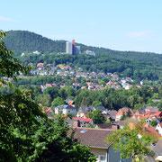 Blick auf Rotenburg und das HKZ