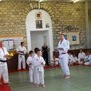 Vendredi 24 Juin 2011 - Remise des diplômes, en présence de Ghislain Lemaire, vice-champion du monde de judo.
