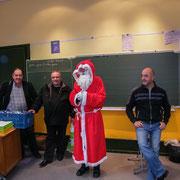 Visite du Père Noël - Vendredi 21 décembre 2012