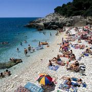 La plage Ambrela avec bar lounge et restaurant