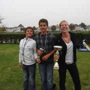 Les podiums du jour - Paul, Jérémy et Delphine (1x et 2x)