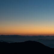 Sonnenaufgang auf dem Mount Kyaiktiyo (Mon State, Myanmar)