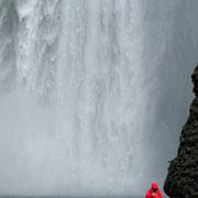 beim Skógafoss (Island)