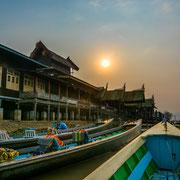 Myanmar - beim Nga-Phe-Kyaung-Kloster am Inle See