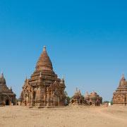 Myanmar - bei den historischen Tempelanlagen von Bagan