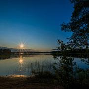 am Hossanjärvi (Finnland)