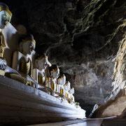 Myanmar - in der Yathae Pyan Cave in der Nähe von Hpa An
