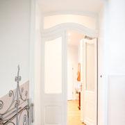 restaurierte historische Tür