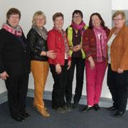 sechs Teilnehmerinnen des Kreisvorstandes