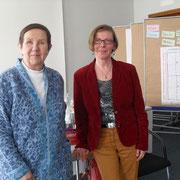 Dank von Frau Schäfer an Christine Gribat im Namen aller Seminarteilnehmerinnen