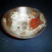六寸鉢 鯛桜