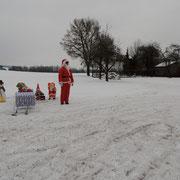 einsamer Nikolaus, wo sind Deine Hunde?