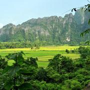 Sattgrüne Naturlandschaften
