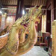 Auf dem Tempelgelände befindet sich auch ein Museum mit sehenswerten buddhistischen Artefakten.