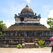 Heißes Wetter in Laos