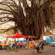 Thakhek - Gemütliches Beisammen direkt am Mekong