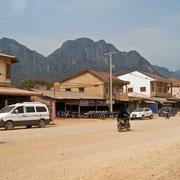 Die Grenzstadt Lak Sao