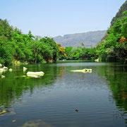 See in der Provinz Khammouan