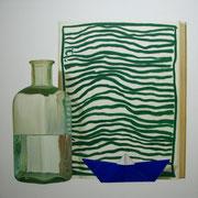 Agua. Óleo/ lienzo ( 100 x 100 cm ) 2006