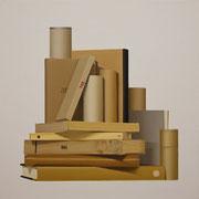 Babel. Óleo/ lienzo. ( 50 x 50 cm ) 2012