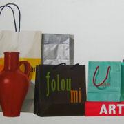 Foloumi. Óleo/ lienzo ( 54 x 130 cm ) 2005