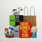 Here comes the sun. Óleo/ lienzo ( 50 x 50 cm ) 2009