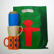 Berlin IV. Óleo/ lienzo ( 100 x 100 cm ) 2007