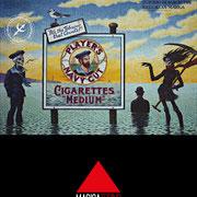 Suicidio di Magritte nell'alta marea Lorenzo Alessandri 1987 ©Lorenzo Alessandri 2015 www.lorenzoalessandri.it