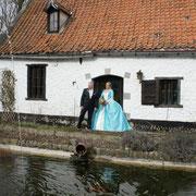 A la Cense de Lalouette (Tertre(St-Ghislain, Belgique)