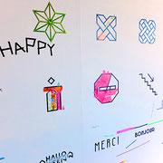 mt nazorieの体験スペース。mtアートを気軽に楽しめるツールは子供たちも夢中