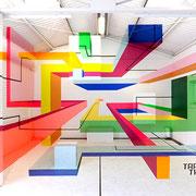 ベルリンのアーティスト「TAPE THAT」が制作したフォトスポット