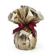 TRADITIONAL PANETTONE IN GOLD PACKAGING (1kg)
